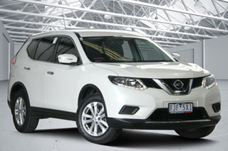 2016 Nissan X-Trail T32 ST (FWD) White Continuous Variable Wagon.