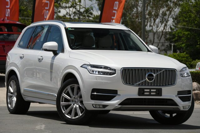 Used Volvo XC90 L Series MY16 T6 Geartronic AWD Inscription Aspley, 2015 Volvo XC90 L Series MY16 T6 Geartronic AWD Inscription White 8 Speed Sports Automatic Wagon