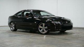 2005 Holden Monaro VZ CV8 Black 6 Speed Manual Coupe.