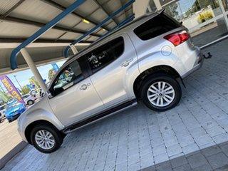 2018 Isuzu MU-X UC MY17 LS-T Silver 6 Speed Sports Automatic Wagon