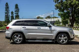 2012 Jeep Grand Cherokee WK MY2012 Overland Bright Silver Metallic 5 Speed Sports Automatic Wagon