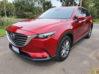 2017 Mazda CX-9 TC Touring Red Sports Automatic Wagon.
