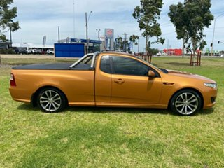 2015 Ford Falcon FG X XR6 Ute Super Cab Gold 6 Speed Sports Automatic Utility