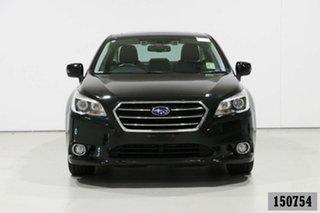 2016 Subaru Liberty MY16 2.5I Premium Black Continuous Variable Sedan.
