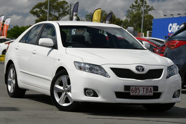 Used Toyota Camry ASV50R Altise Aspley, 2011 Toyota Camry ASV50R Altise White 6 Speed Sports Automatic Sedan