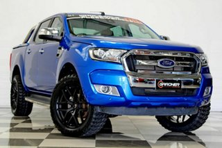 2018 Ford Ranger PX MkII MY18 XLT 3.2 (4x4) (5 Yr) Blue 6 Speed Automatic Double Cab Pick Up.