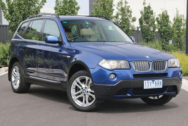 Used BMW X3 E83 MY07 si Steptronic Essendon Fields, 2007 BMW X3 E83 MY07 si Steptronic Blue 6 Speed Sports Automatic Wagon