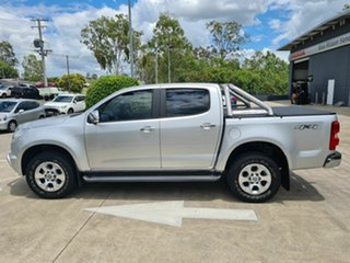 2015 Holden Colorado RG MY15 LTZ Crew Cab Silver 6 Speed Sports Automatic Utility