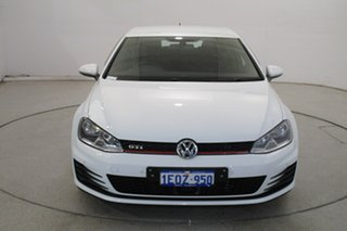 2014 Volkswagen Golf VII MY14 GTI DSG Pure White 6 Speed Sports Automatic Dual Clutch Hatchback.