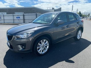 2013 Mazda CX-5 KE1021 Grand Touring SKYACTIV-Drive AWD Grey 6 Speed Sports Automatic Wagon