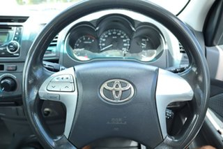 2013 Toyota Hilux KUN16R MY12 SR 4x2 5 Speed Manual Cab Chassis