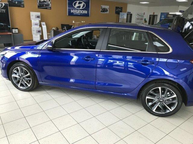 New Hyundai i30 PD.V4 MY21 Active Melton, 2020 Hyundai i30 PD.V4 MY21 Active Intense Blue 6 Speed Sports Automatic Hatchback