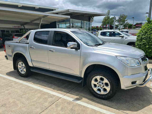 Used Holden Colorado RG MY15 LTZ Crew Cab Yamanto, 2015 Holden Colorado RG MY15 LTZ Crew Cab Silver 6 Speed Sports Automatic Utility