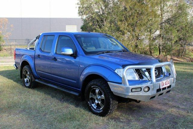 Used Nissan Navara D40 S6 MY12 ST Ormeau, 2013 Nissan Navara D40 S6 MY12 ST Blue 6 Speed Manual Utility