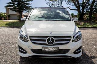 2015 Mercedes-Benz B-Class W246 806MY B180 DCT White 7 Speed Sports Automatic Dual Clutch Hatchback.