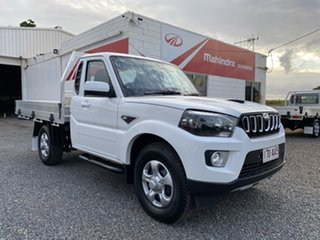 2020 Mahindra Pik-Up S6+ 4x4 Antartic White 6 Speed Manual Utility