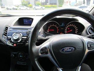 2013 Ford Fiesta WZ ST Orange 6 Speed Manual Hatchback
