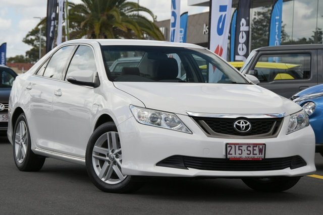 Used Toyota Aurion GSV50R AT-X Aspley, 2012 Toyota Aurion GSV50R AT-X White 6 Speed Sports Automatic Sedan
