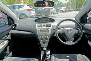2008 Toyota Yaris NCP93R YRS Grey 5 Speed Manual Sedan