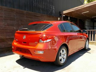2011 Holden Cruze JH Series II MY12 CD Red 6 Speed Sports Automatic Hatchback