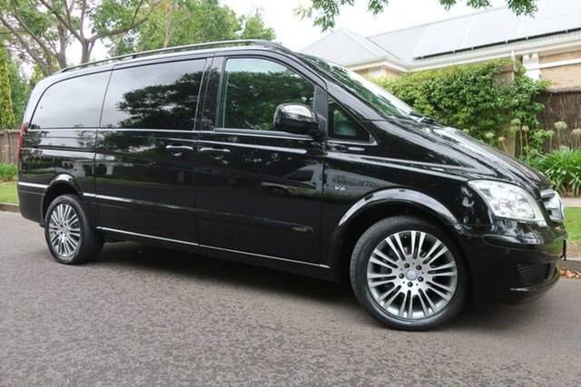 Used Mercedes-Benz Viano 639 MY12 BlueEFFICIENCY Prospect, 2012 Mercedes-Benz Viano 639 MY12 BlueEFFICIENCY Black 5 Speed Automatic Wagon