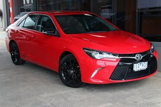2016 Toyota Camry ASV50R Altise Red 6 Speed Sports Automatic Sedan.