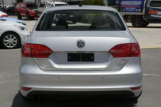 2011 Volkswagen Jetta 1KM MY10 118TSI DSG Silver 7 Speed Sports Automatic Dual Clutch Sedan