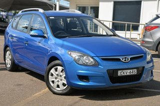 2011 Hyundai i30 FD MY11 SX cw Wagon Blue 4 Speed Automatic Wagon