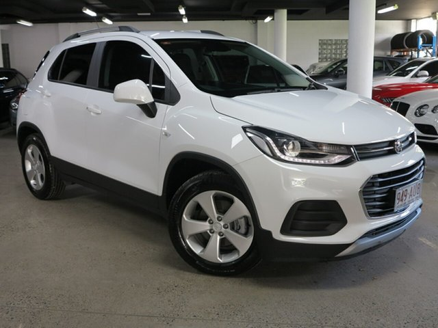 Used Holden Trax TJ MY20 LS Albion, 2020 Holden Trax TJ MY20 LS White 6 Speed Automatic Wagon