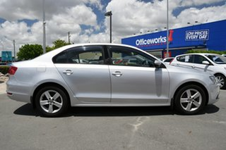 2011 Volkswagen Jetta 1KM MY10 118TSI DSG Silver 7 Speed Sports Automatic Dual Clutch Sedan.