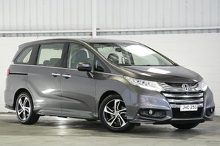 2015 Honda Odyssey RC MY16 VTi-L Grey 7 Speed Constant Variable Wagon.