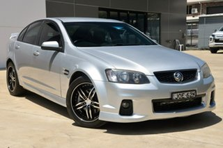 2011 Holden Commodore VE II SS Silver 6 Speed Sports Automatic Sedan.