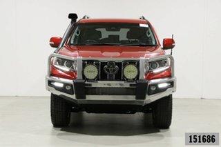2018 Toyota Landcruiser Prado GDJ150R MY18 VX (4x4) Red 6 Speed Automatic Wagon.