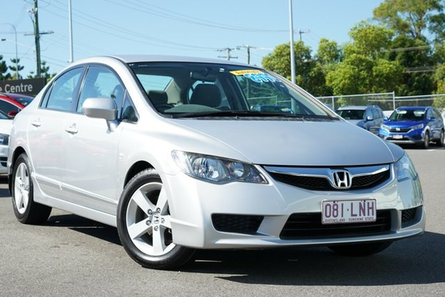 Used Honda Civic 8th Gen MY09 VTi-L Hillcrest, 2009 Honda Civic 8th Gen MY09 VTi-L Silver 5 Speed Automatic Sedan