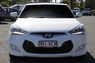 2013 Hyundai Veloster FS2 + Coupe Crystal White 6 Speed Manual Hatchback
