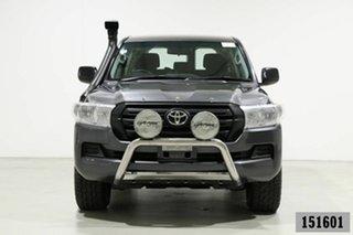 2017 Toyota Landcruiser VDJ200R MY16 GX (4x4) Graphite 6 Speed Automatic Wagon.