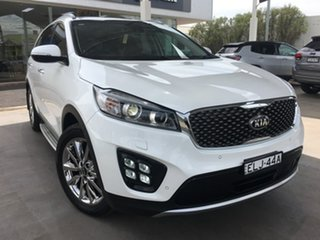 2017 Kia Sorento UM GT-Line White Sports Automatic.