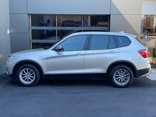 2012 BMW X3 F25 MY0412 xDrive20d Steptronic Silver 8 Speed Automatic Wagon