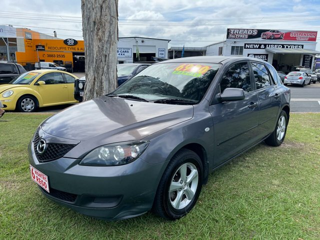 Used Mazda 3 BK10F2 Neo Clontarf, 2008 Mazda 3 BK10F2 Neo Grey 5 Speed Manual Hatchback