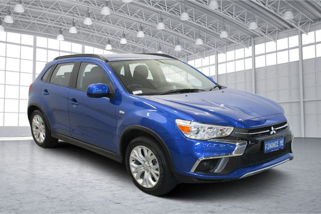 Used Mitsubishi ASX XC MY19 ES 2WD Victoria Park, 2019 Mitsubishi ASX XC MY19 ES 2WD Blue 1 Speed Constant Variable Wagon