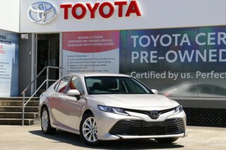 2019 Toyota Camry ASV70R Ascent Steel Blonde 6 Speed Sports Automatic Sedan.