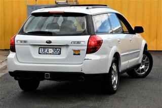 2006 Subaru Outback B4A MY06 Safety Pack AWD White 4 Speed Sports Automatic Wagon
