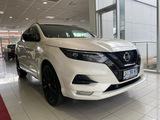 Demo Nissan Qashqai J11 Series 3 MY20 Midnight Edition X-tronic Launceston, 2020 Nissan Qashqai J11 Series 3 MY20 Midnight Edition X-tronic Ivory Pearl 1 Speed