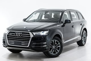 2019 Audi Q7 4M MY19 45 TDI Tiptronic Quattro Black 8 Speed Sports Automatic Wagon.