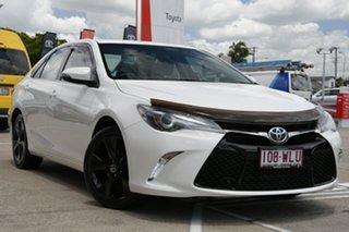 2016 Toyota Camry ASV50R Atara SX Diamond White 6 Speed Sports Automatic Sedan.