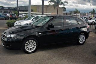 2010 Subaru Impreza G3 MY10 R AWD Black 5 Speed Manual Hatchback.
