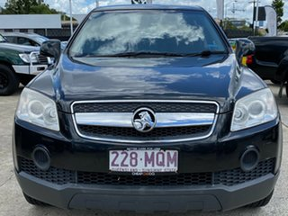 2009 Holden Captiva CG MY09 SX AWD Black 5 Speed Sports Automatic Wagon