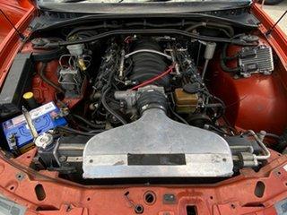 2007 Holden Crewman VZ MY06 SS Orange 4 Speed Automatic Utility