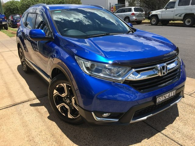Used Honda CR-V VTi-L Dubbo, 2018 Honda CR-V RW VTi-L Blue Constant Variable