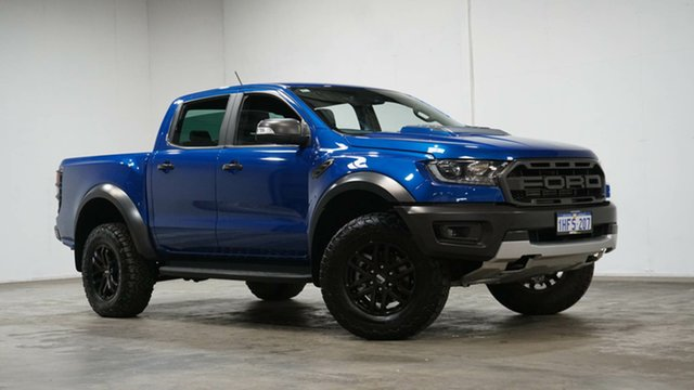 Used Ford Ranger PX MkIII 2019.00MY Raptor Welshpool, 2019 Ford Ranger PX MkIII 2019.00MY Raptor Blue 10 Speed Sports Automatic Double Cab Pick Up